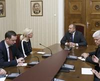 Среща при президента Румен Радев